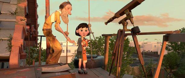 Pikku prinssin sijaan uuden elokuvan pääosassa on nuori tyttö, joka ystävystyy naapurissa asuvan salaperäisen lentäjän kanssa.