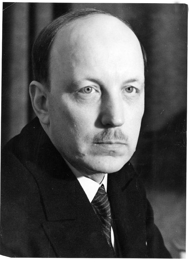 1940. Predentti Risto Ryti.