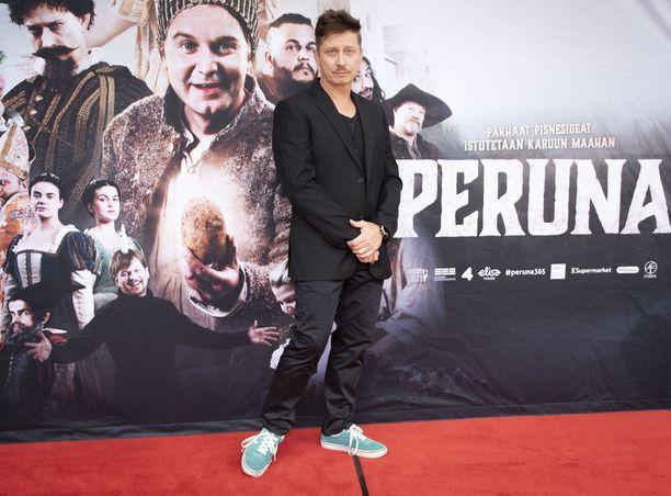 Kari Ketonen näyttelee 13.8. ensi-iltansa saavassa Peruna-elokuvassa.