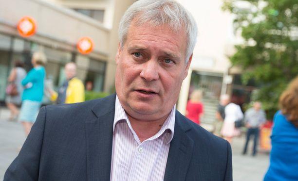 Antti Rinne (sd).