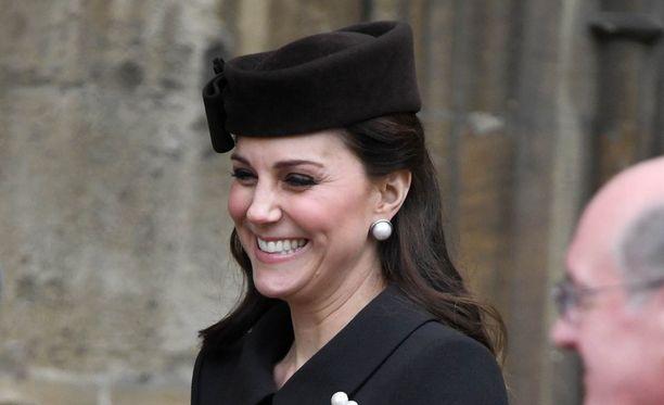 Herttuatar Catherinea ei välttämättä nähdä enää julkisuudessa ennen kolmannen lapsen syntymää.