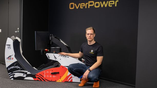 Virtuaalikilpakuljettaja Olli Pahkala on valmis jatkamaan menestyksekästä uraansa.