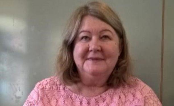 64-vuotias Paula Kurkela on kateissa Oulussa.