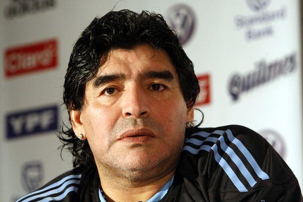 Diego Maradona menehtyi keskiviikkona.
