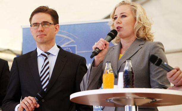 Ministerit Katainen ja Urpilainen kehuivat eurooppaa Eurooppa päivillä.