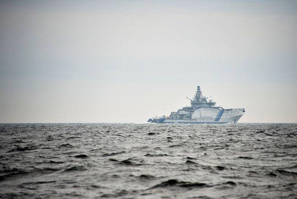 Sukellusveneen etsintää Suomenlahdella tiistaina päivällä.
