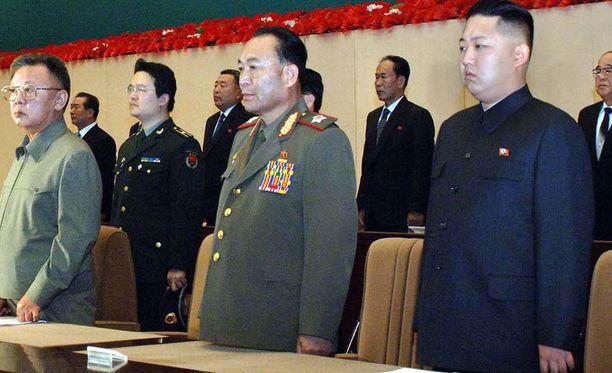 Näin hoikassa kunnossa Kim Jong-un oli vuonna 2010.