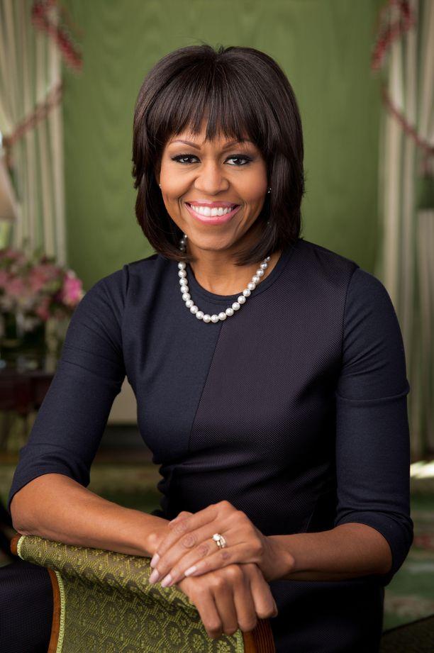 Michelle Obama on kahden tyttären äiti.