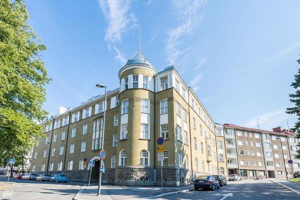 Tamperelainen jugend-talo on rakennettu vuonna 1910.