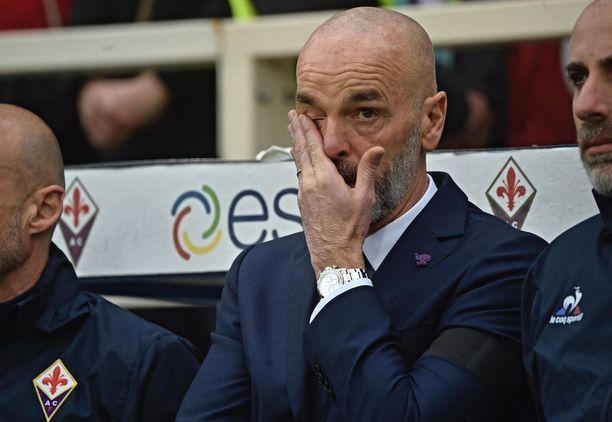 Tilanne oli tunteikas myös Fiorentinan valmentajalle Stefano Piolille.