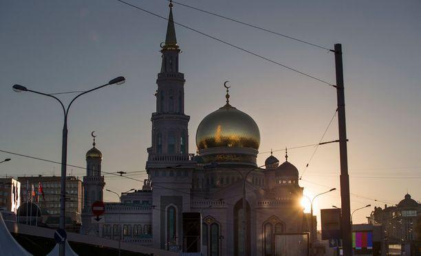 Moskeija avattiin tänään.