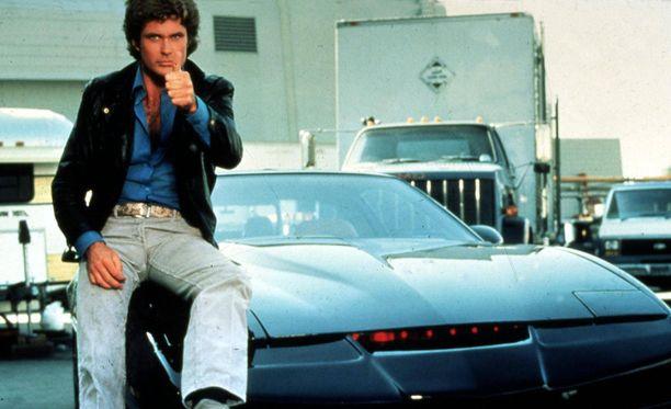 Michael Knightin rooli nosti Hasselhoffin supertähdeksi.