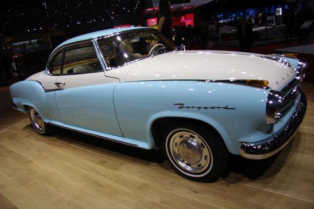 Borgward Isabella Coupeta valmistettiin vuosina 1954 - 62.