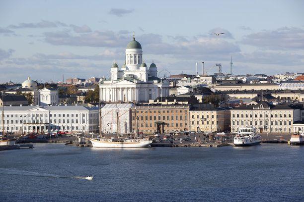 Helsinki on suosittu matkakohde kiinalaisten keskuudessa.