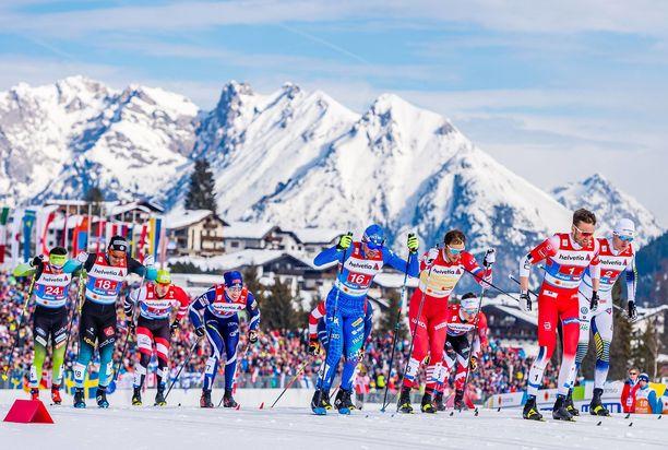 Yle ei pärjännyt hiihtolajien tv-oikeuksien tarjouskisassa kansainväliselle NENT Groupille.