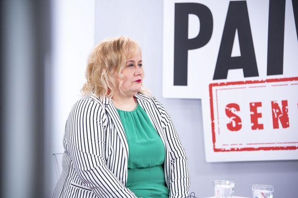 Ann-Mari Leinonen vieraili keskiviikkona IL-TV:n Sensuroimaton Päivärinta -ohjelmassa.