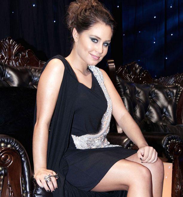 Anna Abreun juhlatyyliä vuonna 2011.