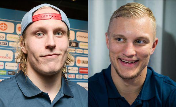Patrik Laine ja Teemu Pulkkinen