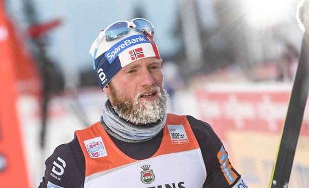 Martin Johnsrud Sundbykin on kärsinyt sydämen eteisvärinästä.