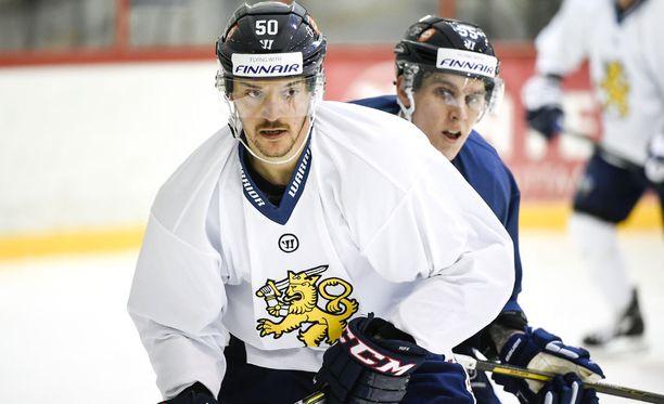 Juhamatti Aaltonen on Leijonien MM-joukkueessa.