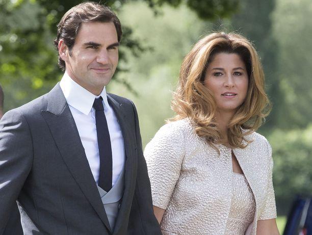 Roger ja  Mirka Federer ovat olleet naimisissa 11 vuotta.
