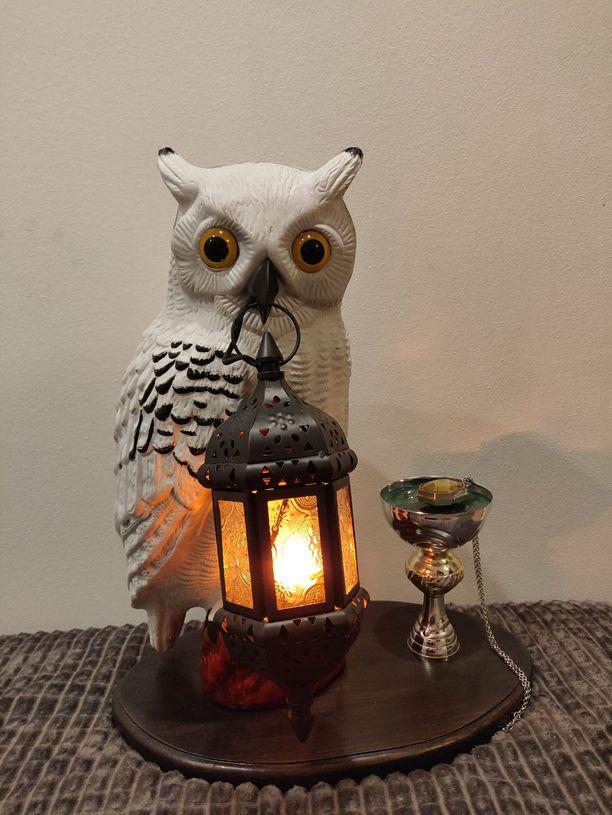 Tältä näyttää itse tehty Harry Potter -valaisin, jonka Antti Sinilehto teki tyttärelleen.