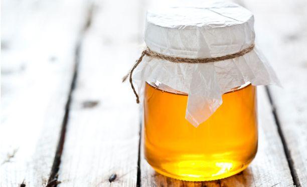 Hunaja on todella terveellinen, ja vieläpä hyvää.