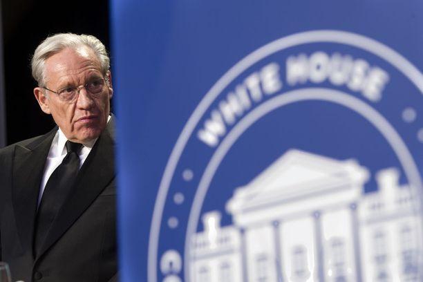 Washington Postin varapäätoimittaja Bob Woodwardilla, 75, on yli 40 vuoden vuoden kokemus raportoinnista USA:n vallan ytimestä.