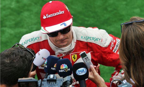 Kimi Räikkönen on ajanut Monzassa kolmesti palkintokorokkeelle, mutta voitto puuttuu yhä.