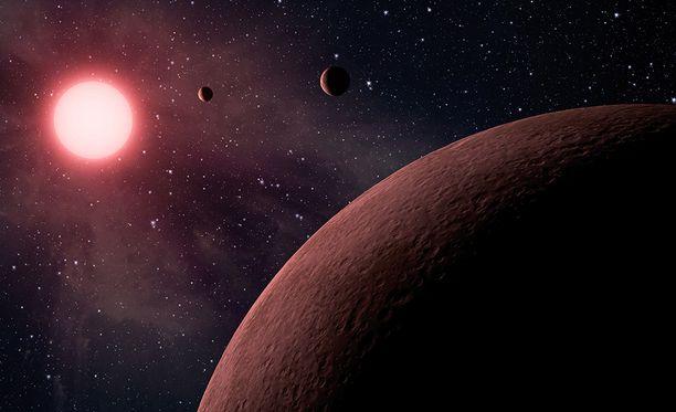 Gliese 832 on niin kutsuttu punainen kääpiö. Sitä kiertämästä on jo aiemmin löydetty kaksi planeettaa.