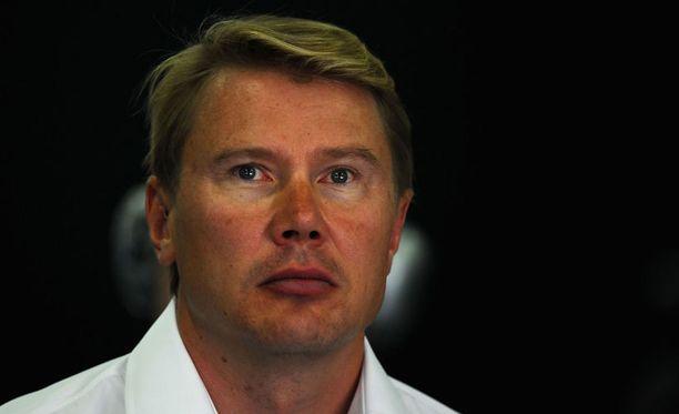 Mika Häkkinen viihtyi aktiivivuosinaan paljon Silverstonessa ja Barcelonassa.