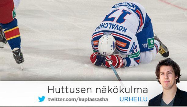 KHL konttaa kuin Venäjän yhteiskunta.