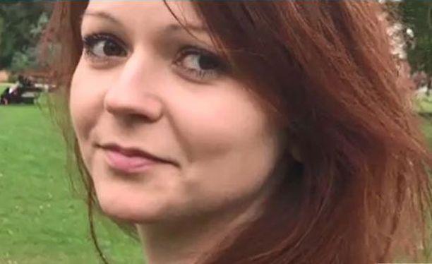 Julia Skripal joutui murhayrityksen kohteeksi lomamatkallaan Britanniassa.
