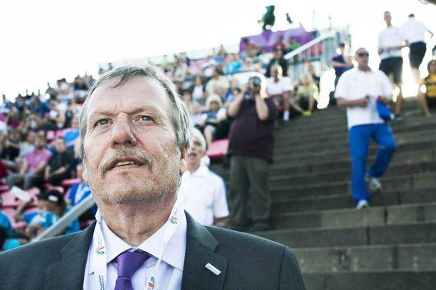 Jarmo Hakanen on tamperelainen yleisurheilupatruuna.