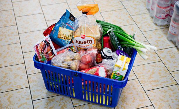 Ruokakori on taas kalliimpi kuin kesäkuussa.