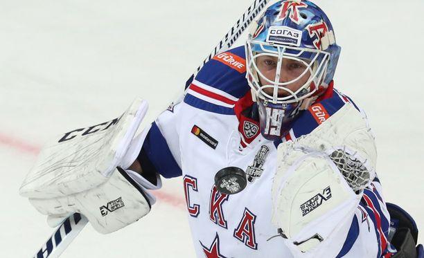 Mikko Koskinen on seissyt neljä kautta Pietarin SKA:n suomalaisena muurina.