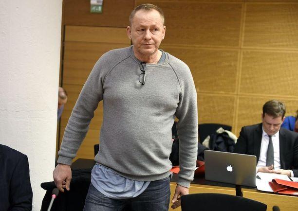 Keijo Vilhunen kärsii parhaillaan kymmenen vuoden tuomiotaan törkeistä huumerikoksista.