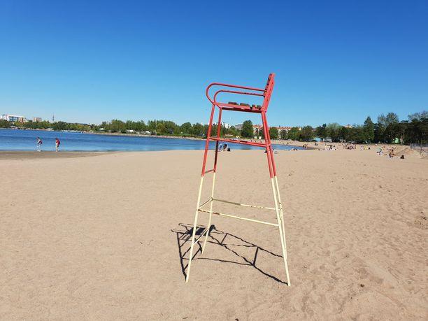 Hietaniemen uimarannalla on ollut kaksi hukkumistapausta viikon sisään.