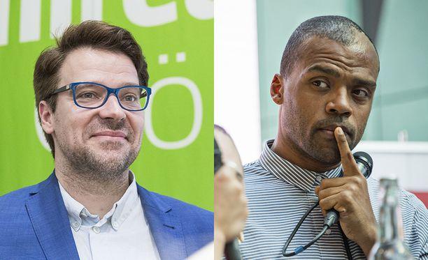 Vihreiden kansanedustajat Ville Niinistö ja Jani Toivola ovat käyttäneet taksia eniten.