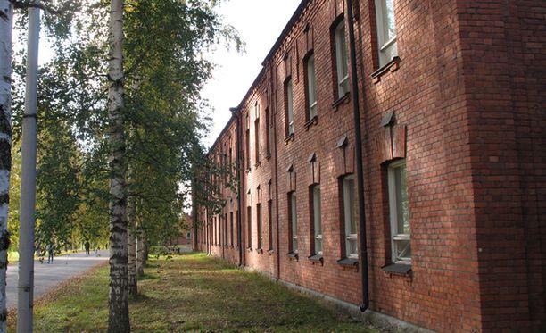 Lahden Hennalan vastaanottokeskus on yksi Suomen suurimpia.
