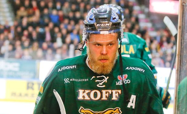 Antti Tyrväisellä on nyt hyvää aikaa miettiä tempaustaan.