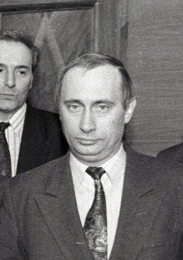 41-vuotias Putin vuonna 1995.