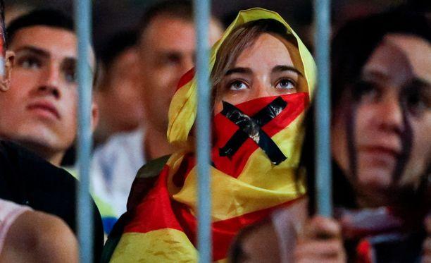 Sunnuntai oli suuri juhlapäivä Katalonian itsenäisyyden kannattajille.