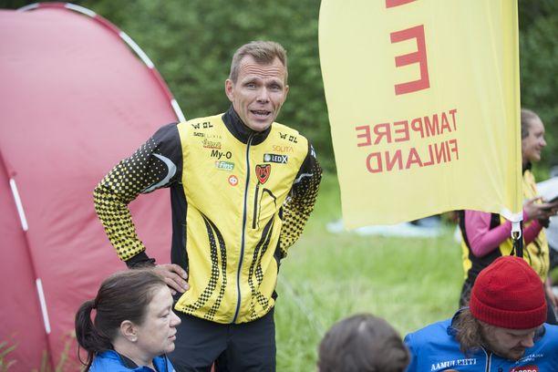 Raimo Arvolan manageroima Koovee sijoittui seitsemänneksi Jukolan viestissä Kangasalla.