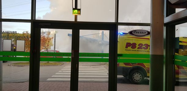 Poliisi kertoo, että lapset saivat vakavia palovammoja muun muassa kasvoihin.