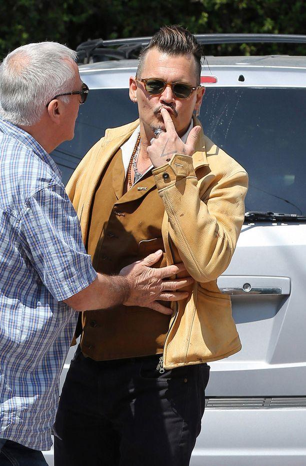 Johnny Depp on ollut viime aikoina skandaaliotsikoissa.