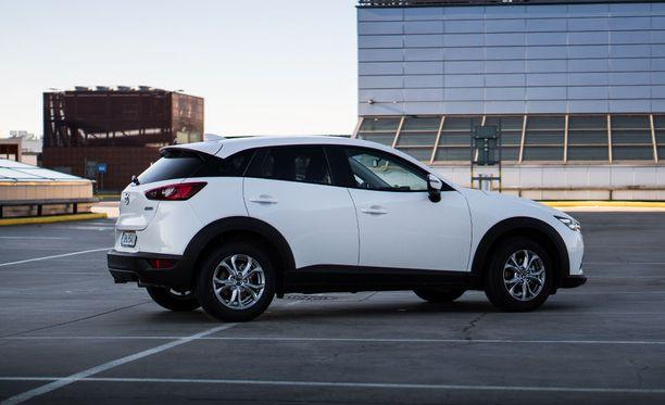 Mazda CX-3 pohjautuu oikeasti Mazda2-malliin, ei Mazda3:een kuten voisi olettaa.