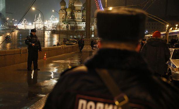 Boris Nemtsov ammuttiin Kremlin naapurissa.