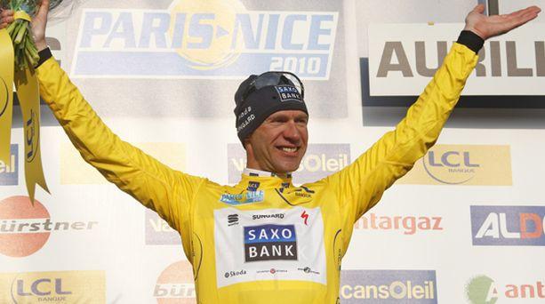VANHIN. Jens Voigt oli tyytyväinen keltaiseen paitaan.