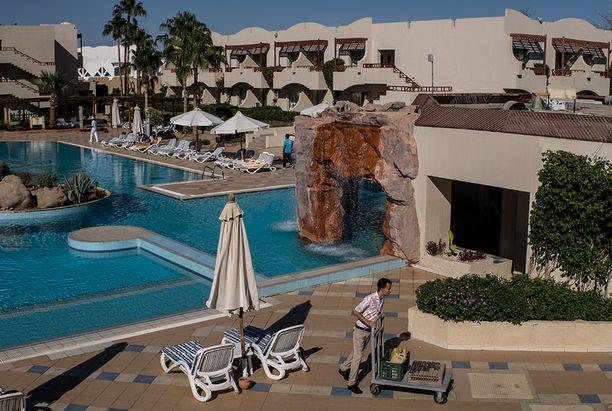 Se etu nykytilanteessa turistille on, että hotellihuoneita saa pilkkahinnalla.